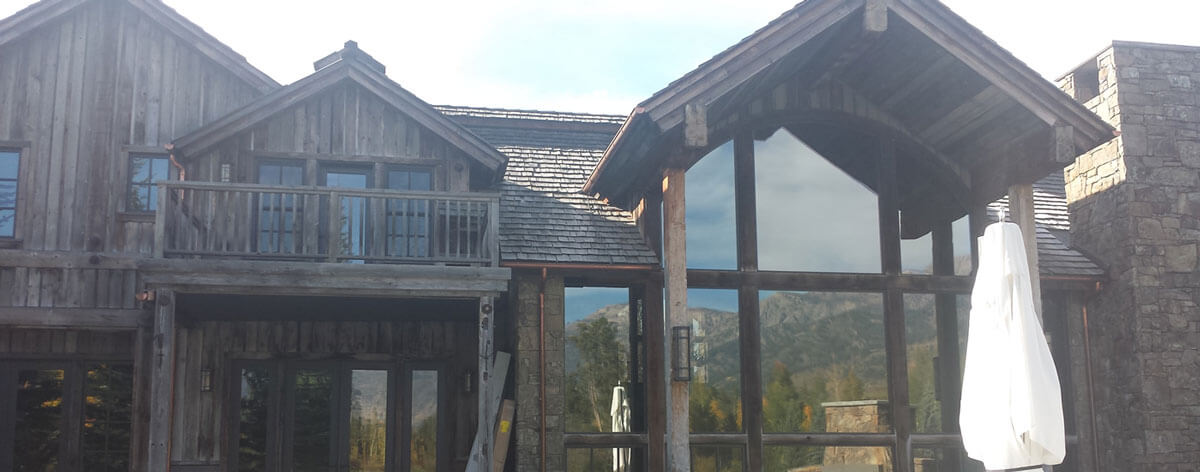 Beautiful cabin upgrade with All Weather Glass Tinting