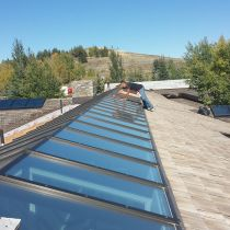 Professional installation by All Weather Glass Tinting