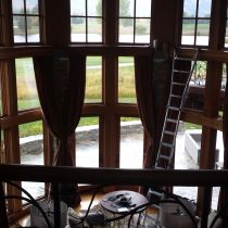 Each level gets the same treatment with All Weather Glass Tinting