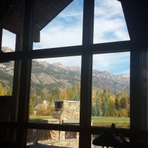 Mountain view enjoyed with All Weather Glass Tinting